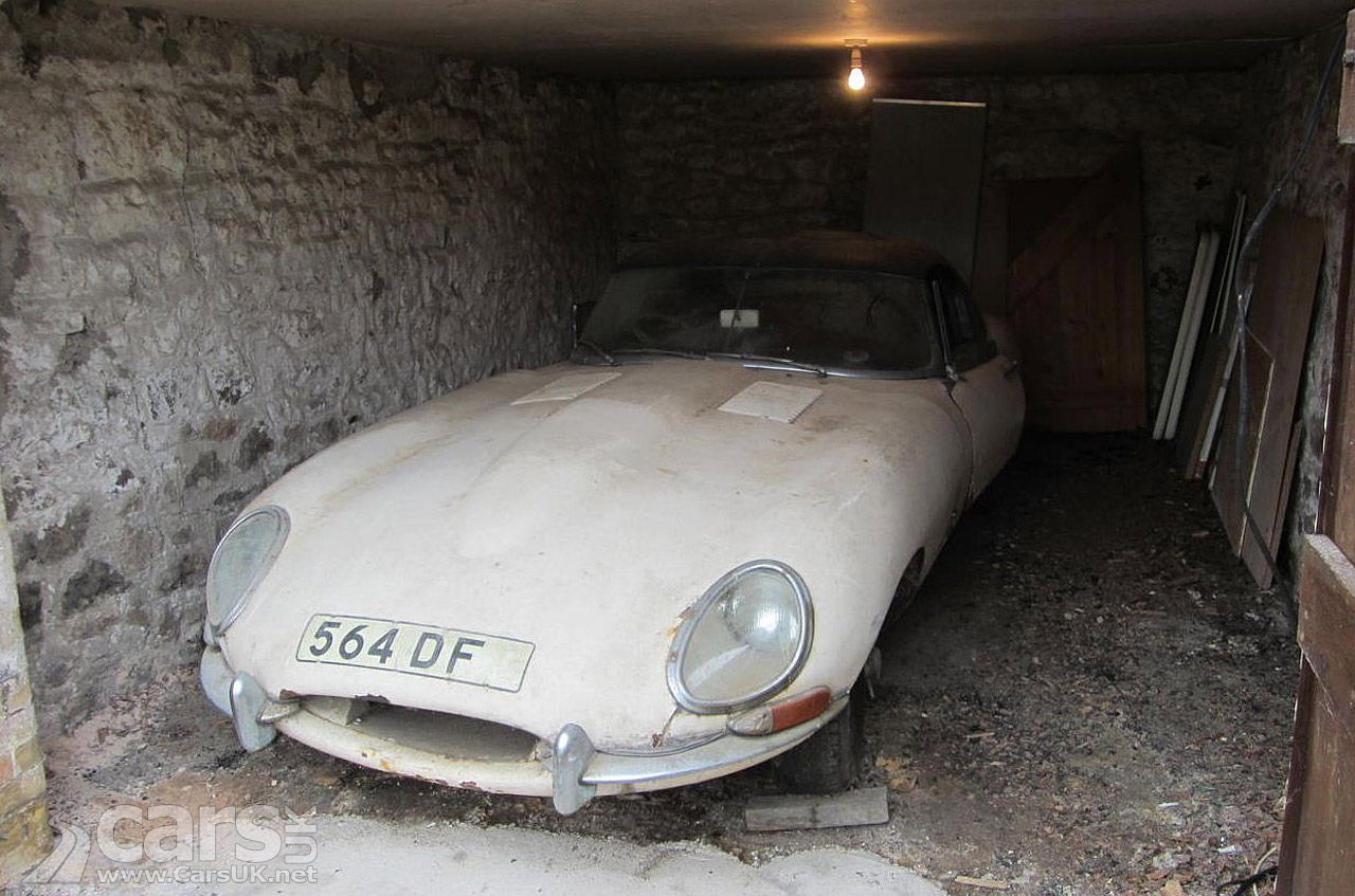 1961 Jaguar E Type Barn Find