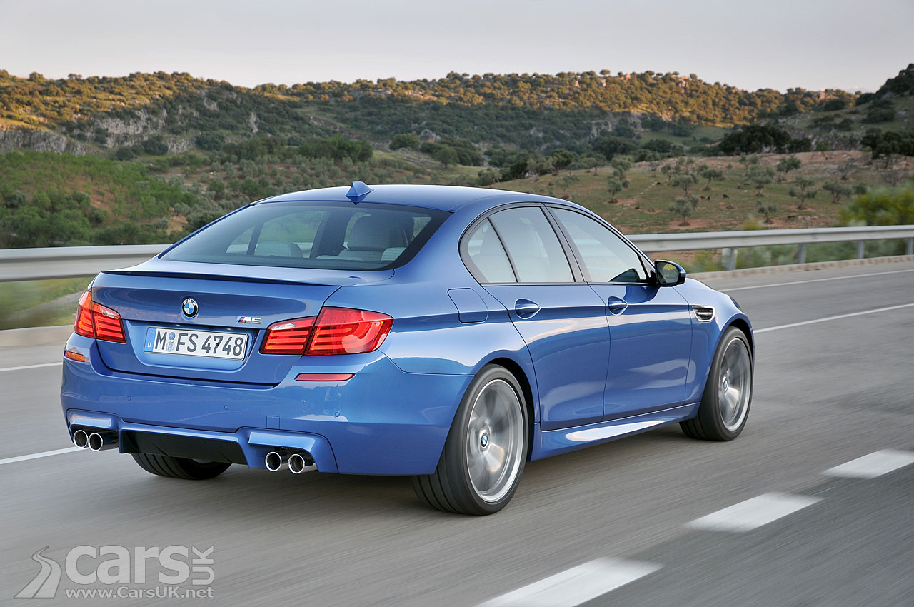 2012 BMW M5 2