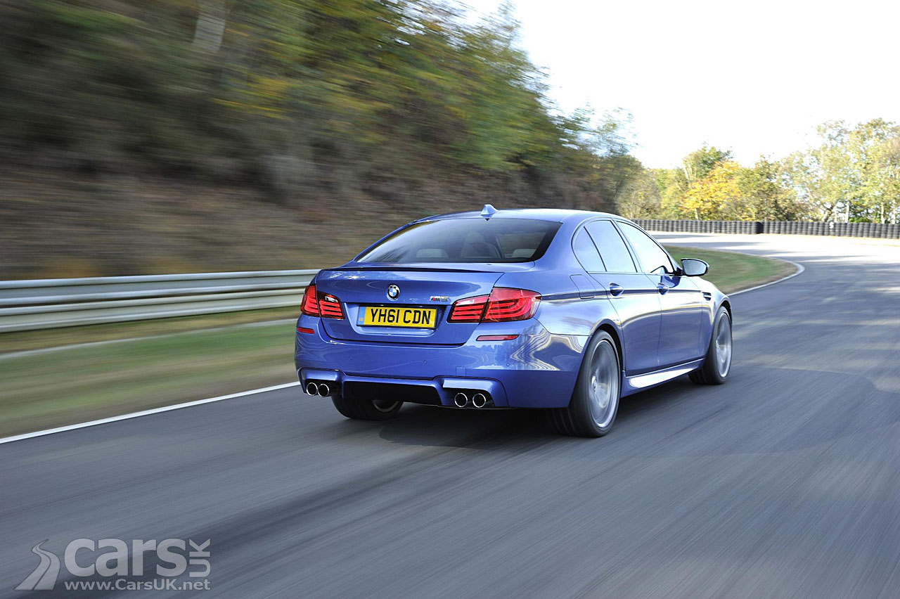 2012 BMW M5 UK Photo Gallery 1
