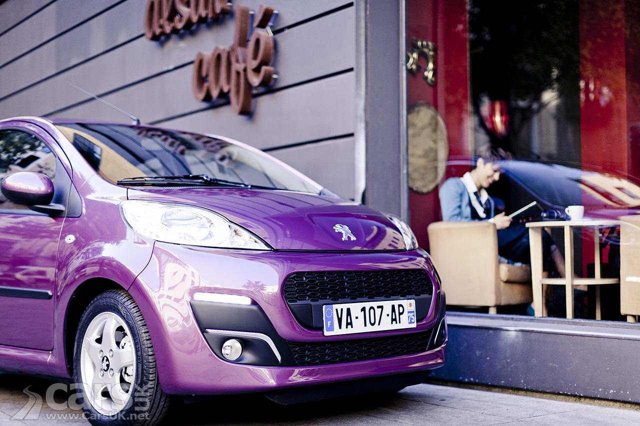 2012 Peugeot 107 Facelift 1