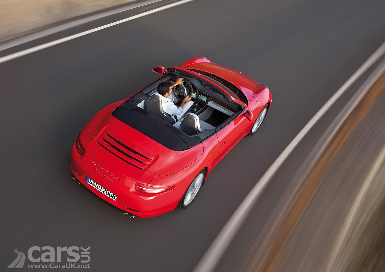 2012 Porsche 911 Carrera Cabriolet 1