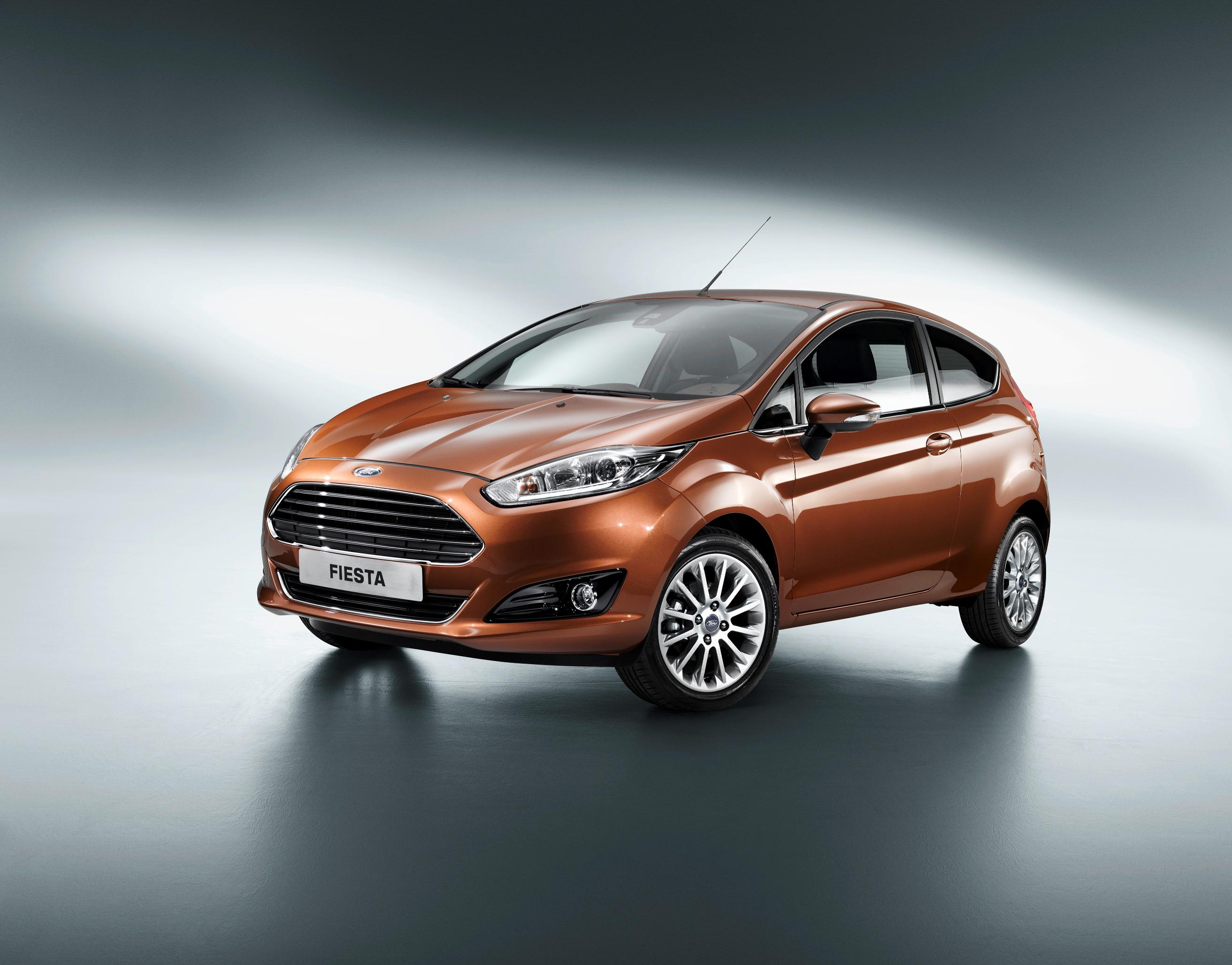 2013 Ford Fiesta Facelift