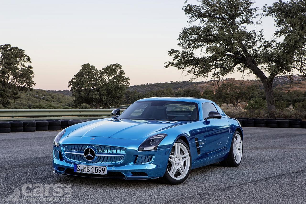 2013 mercedes sls electric drive photos for Mercedes benz sls amg electric drive