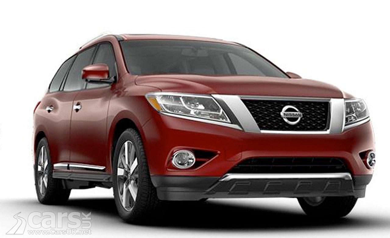 Photos of the 2013 Nissan Pathfinder which has been revealed on Nissan