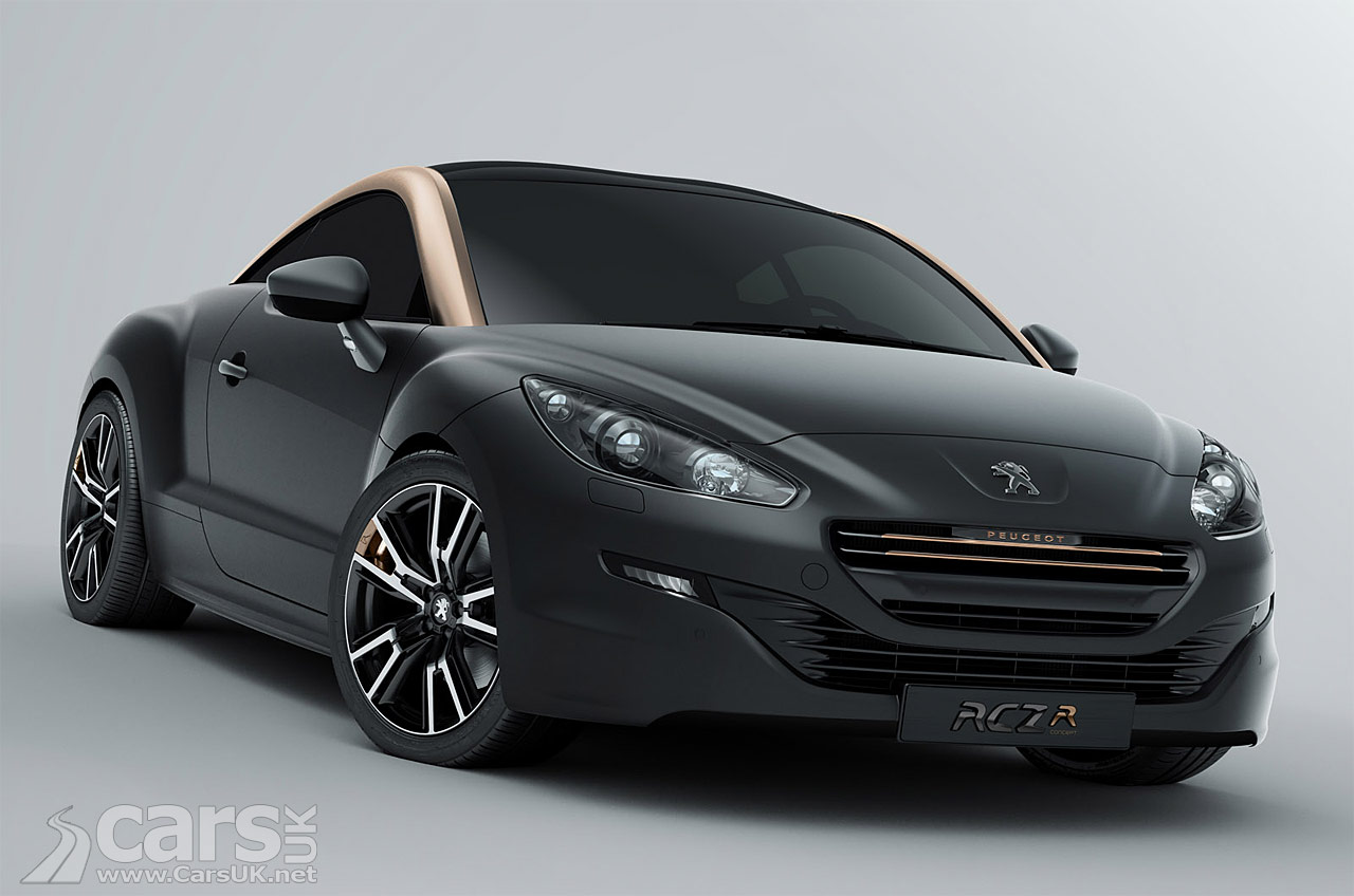 2013 peugeot rcz facelift photos. Black Bedroom Furniture Sets. Home Design Ideas