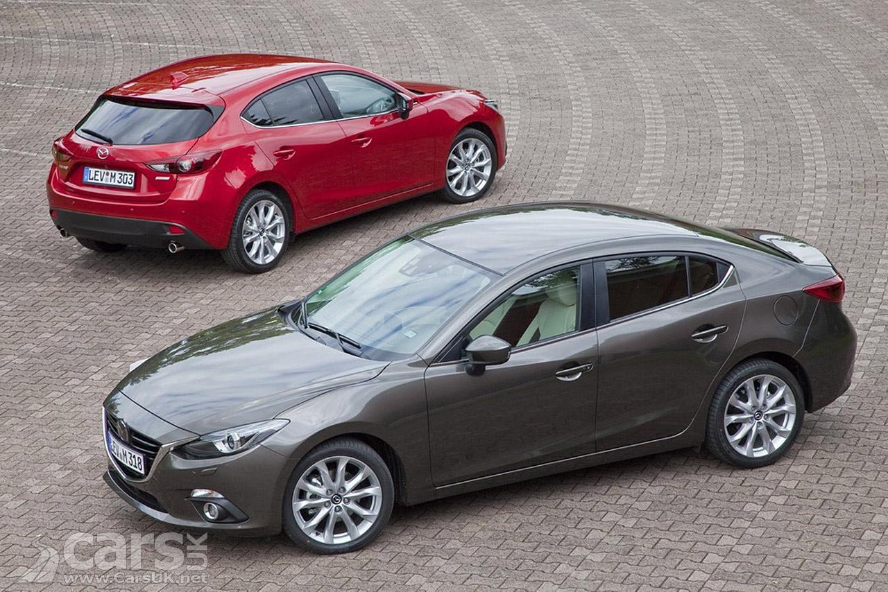 2014 Mazda3 Saloon