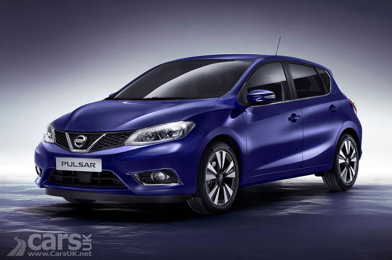 Photos of the 2014 Nissan Pulsar, Nissan's take on the VW Golf and ...