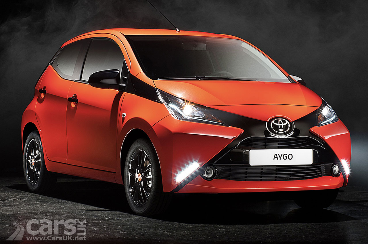 the new 2014 Toyota Aygo, Toyota's take on the PSA/Citroen City car