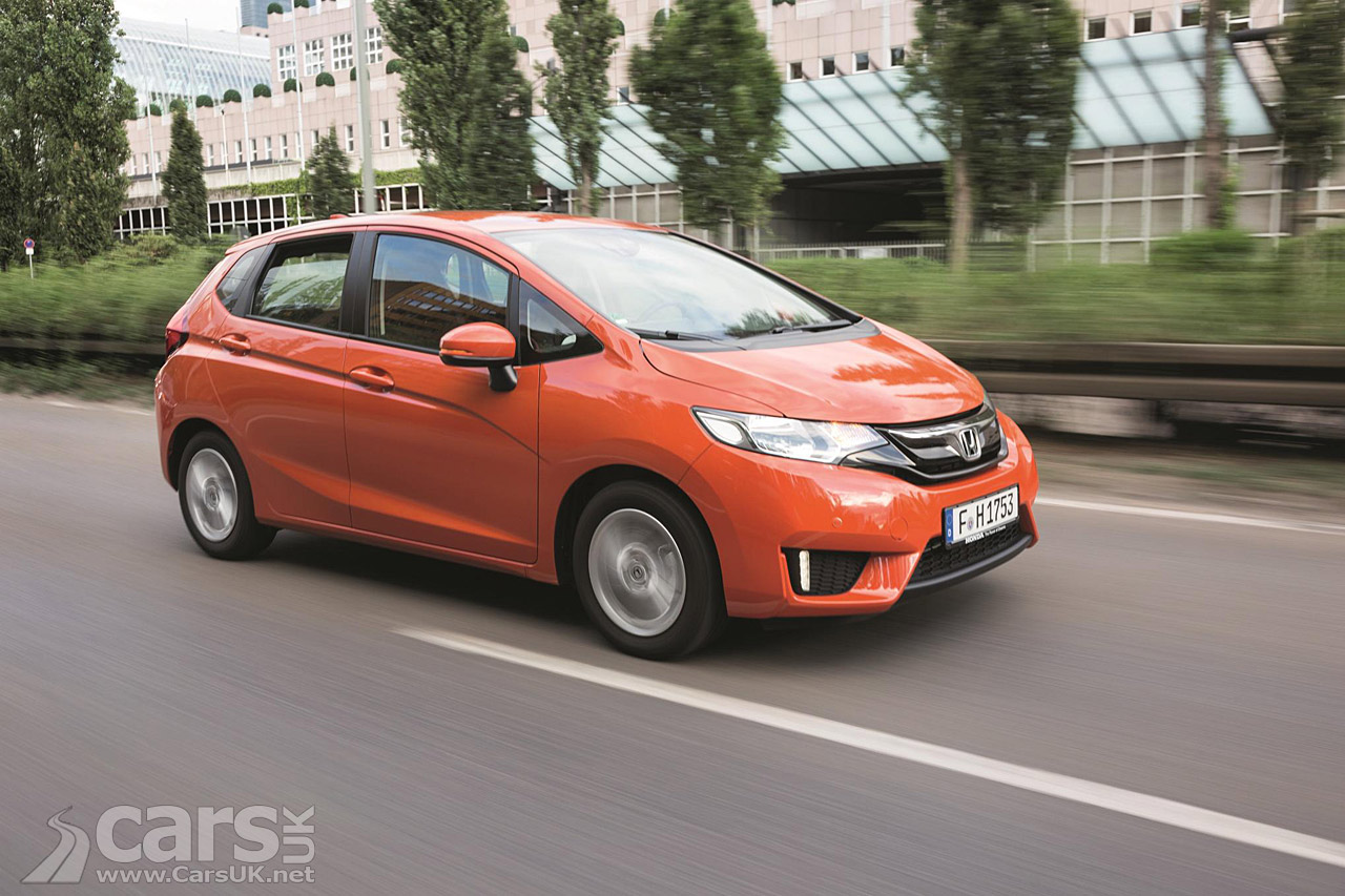Photos of the 2015 Honda Jazz with a more rounded design, better ...