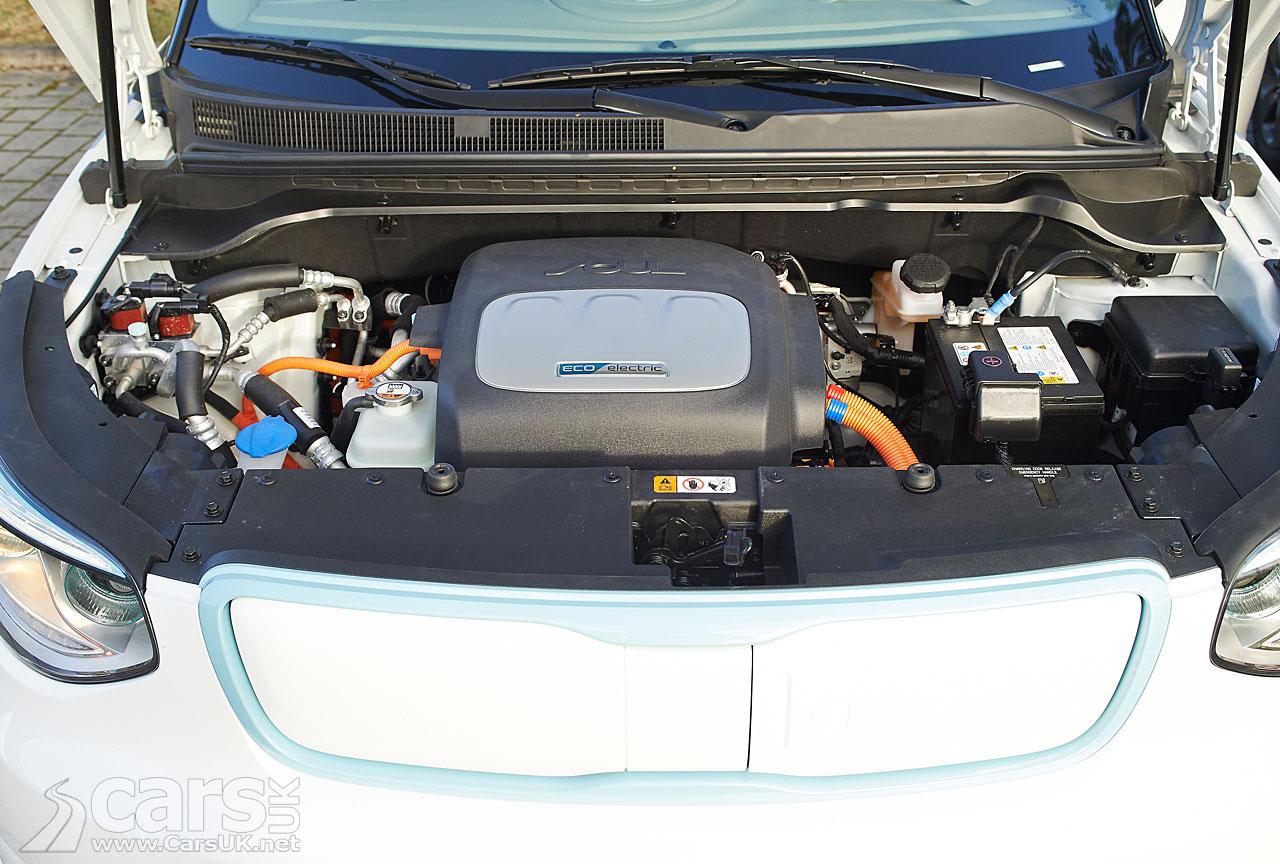 2015 Kia Soul EV Engine Bay