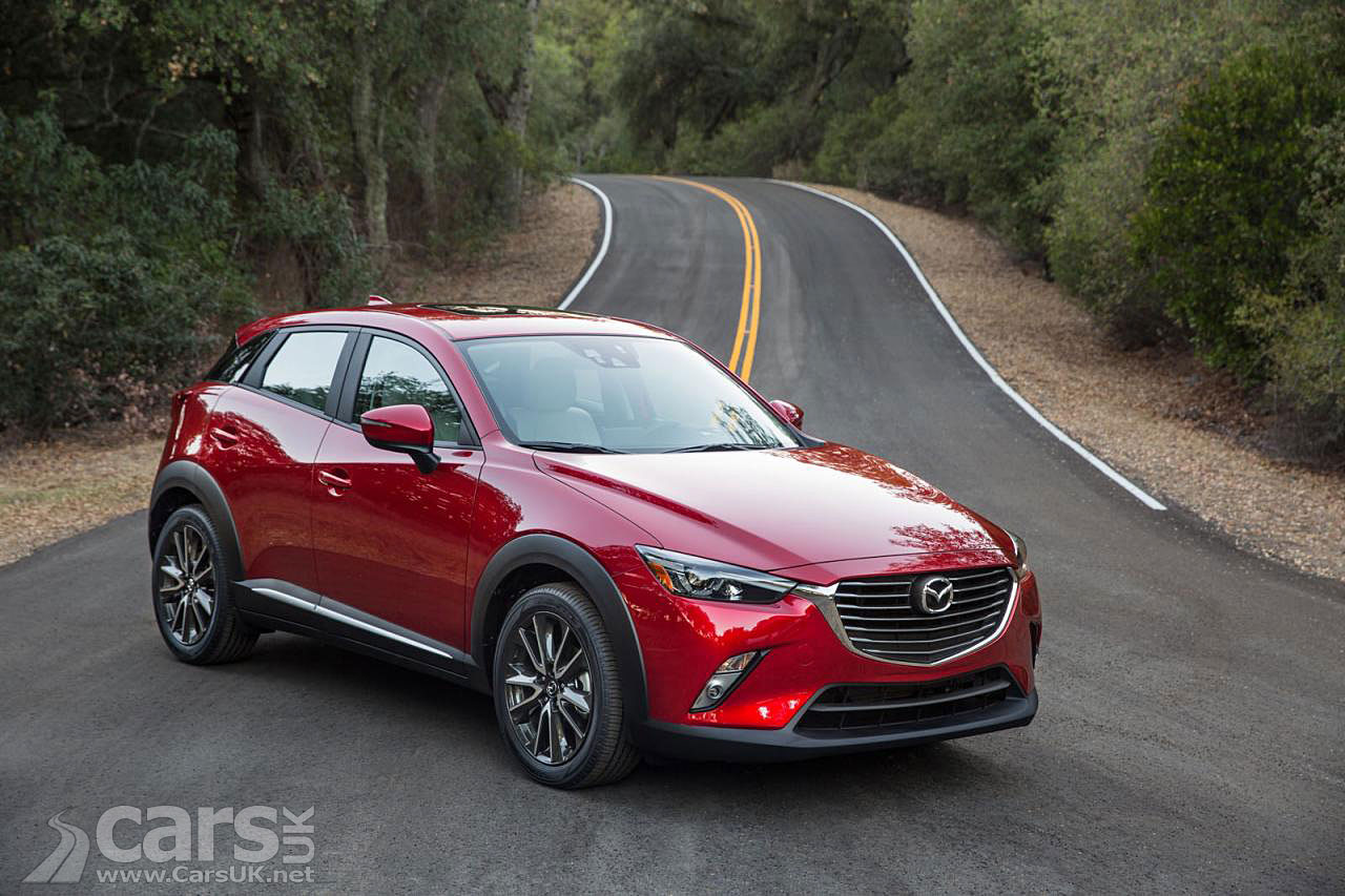 Photos of the new 2015 Mazda CX-3, a compact SUV based on the Mazda2