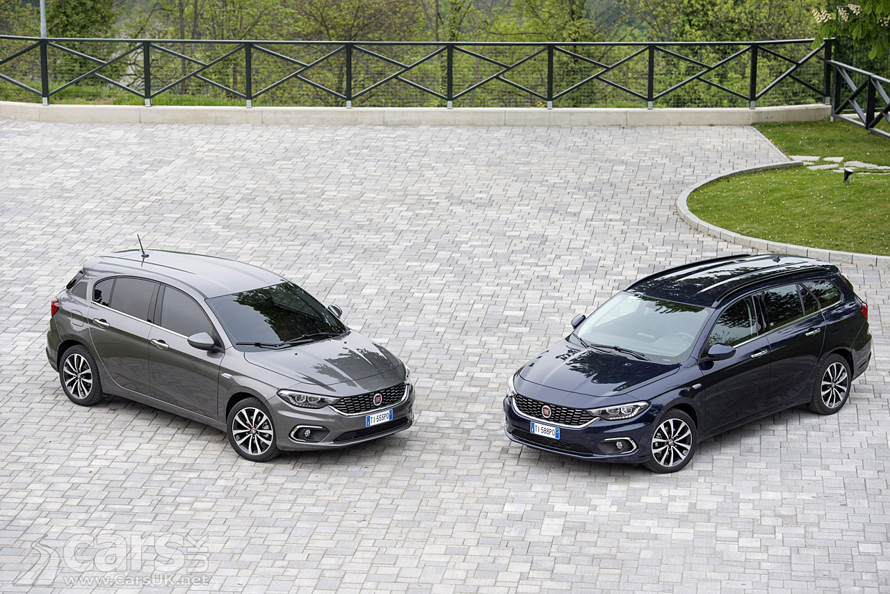 Photos of the 2016 FIAT Tipo, Fiat's new C-Segment car arriving as a ...