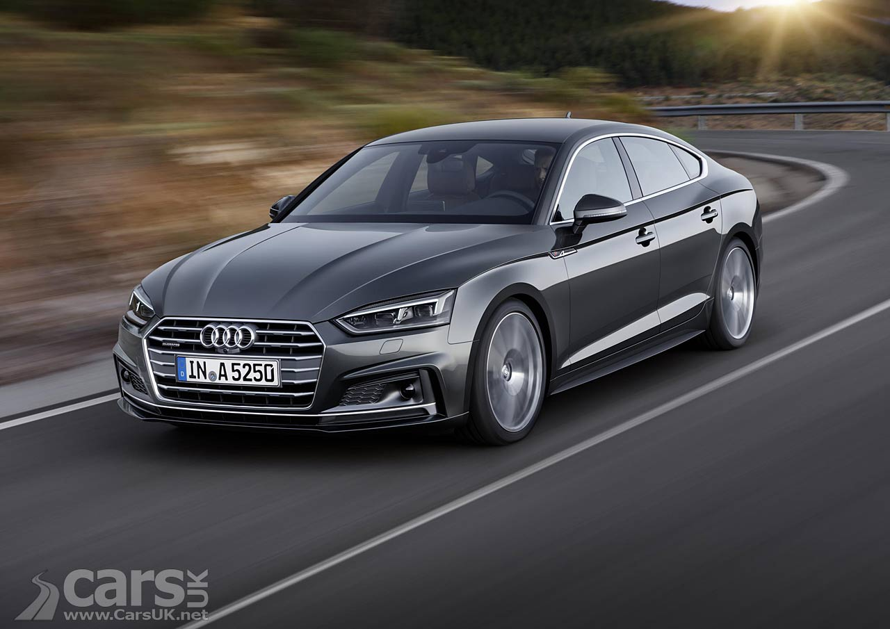 Photos of the 2017 Audi A5 Sportback and S5 Sportback – the five ...