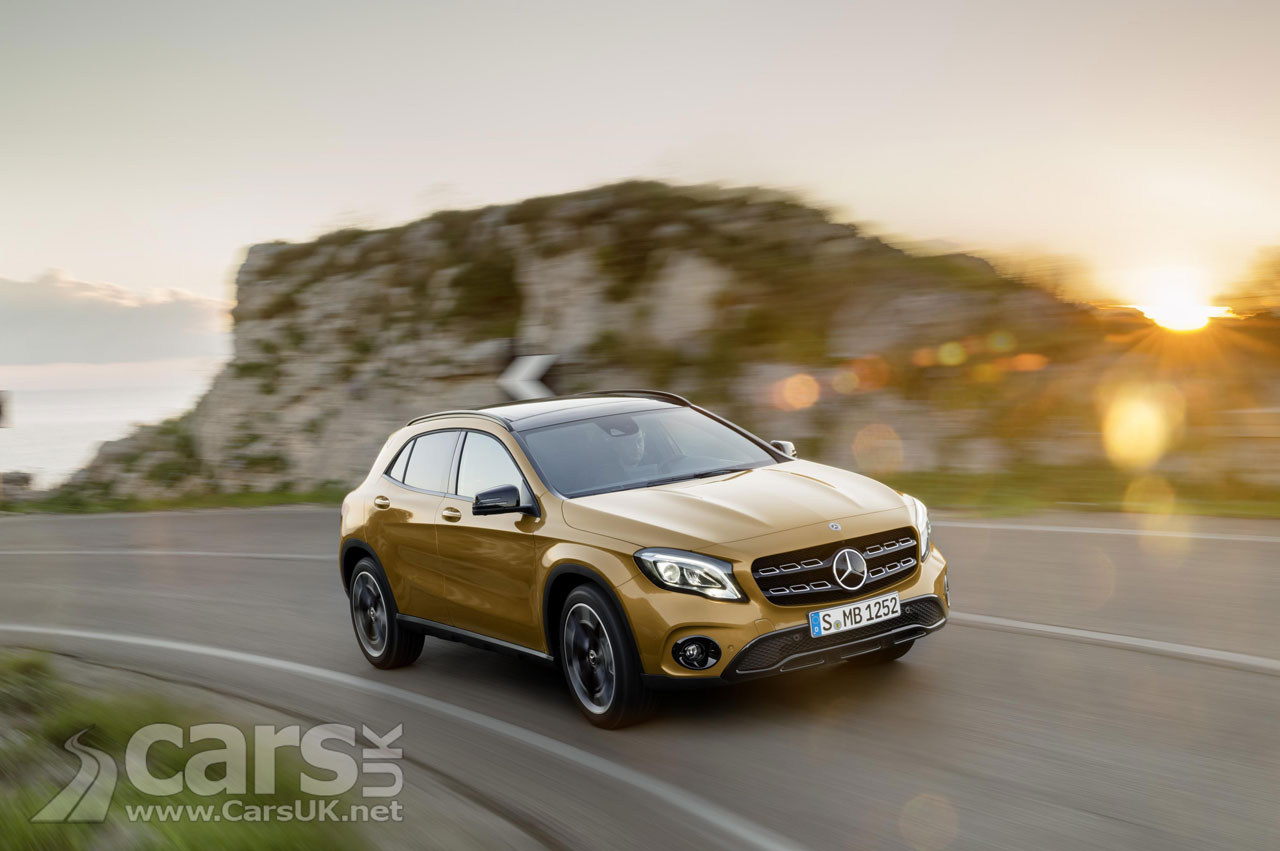2017 Mercedes GLA Facelift