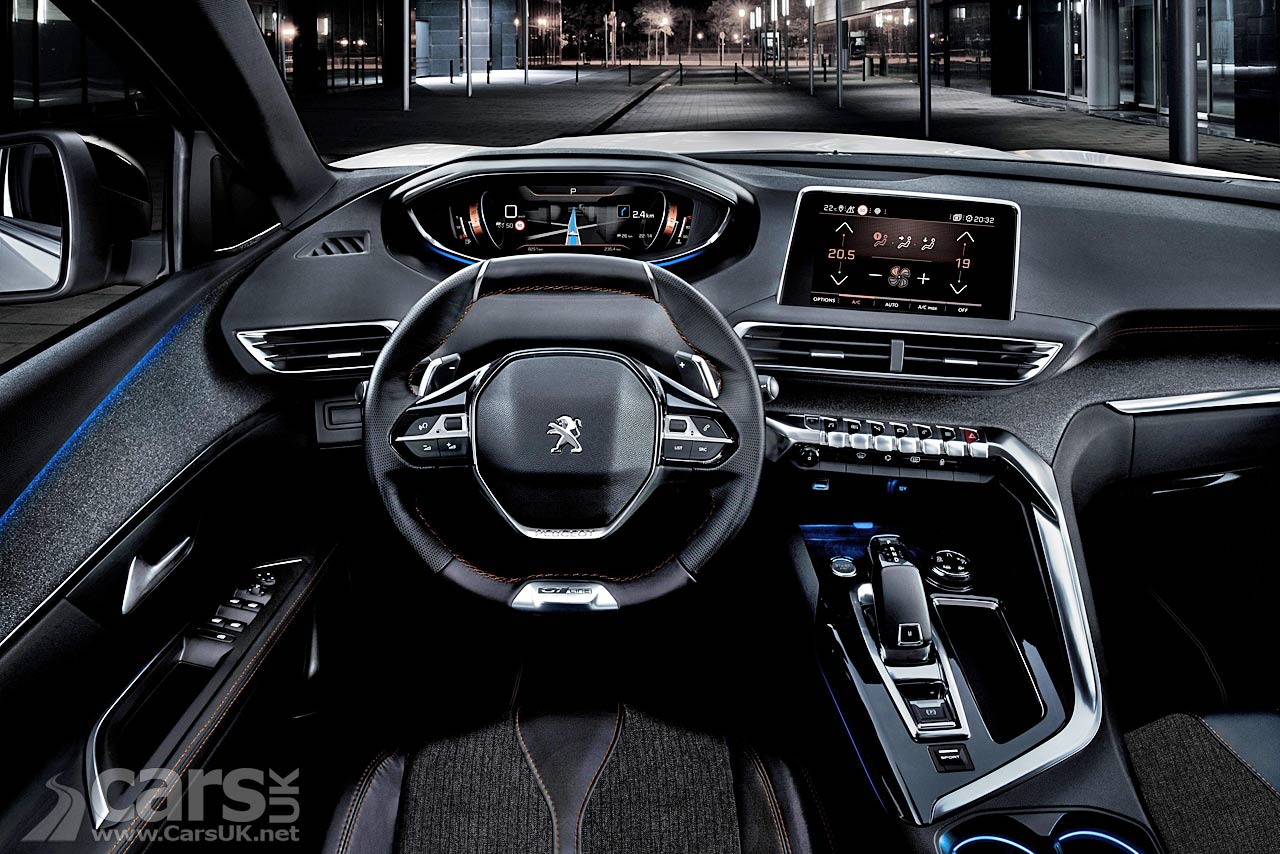 Peugeot 5008 inside images reverse search for Interieur nouveau 5008