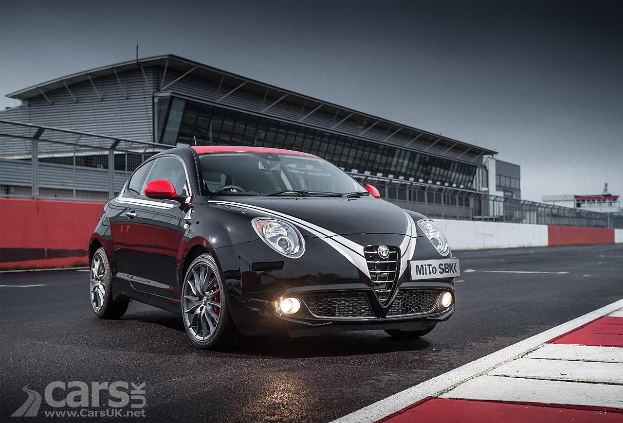 Alfa MiTo Quadrifoglio Verde SBK Limited Edition front view photo
