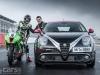 MiTo Quadrifoglio Verde SBK with superbike and drivers photo