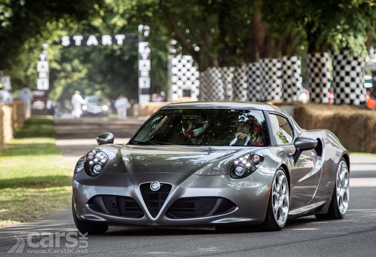 alfa romeo 4c goodwood festival of speed pictures cars uk. Black Bedroom Furniture Sets. Home Design Ideas
