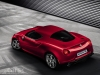 Alfa Romeo 4C production version in red rear view image