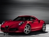Alfa Romeo 4C production version in red front 3/4 view image