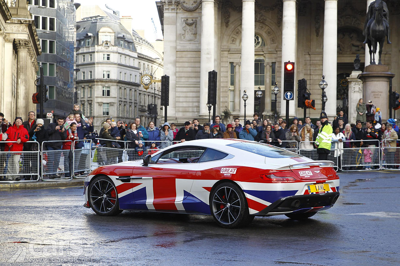 Aston Martin Lord Mayor's Show 2013