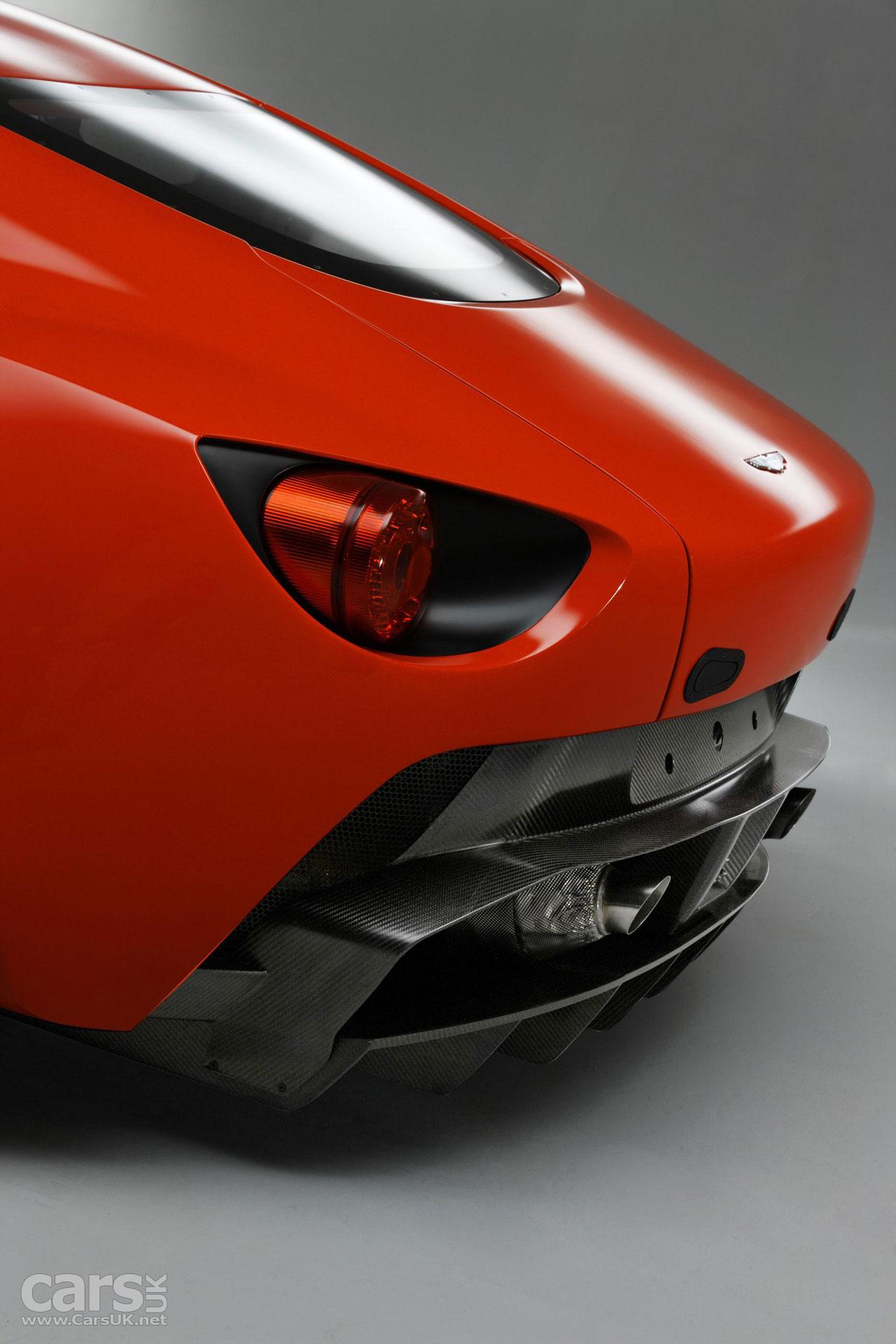 Photos of the Aston Martin V12