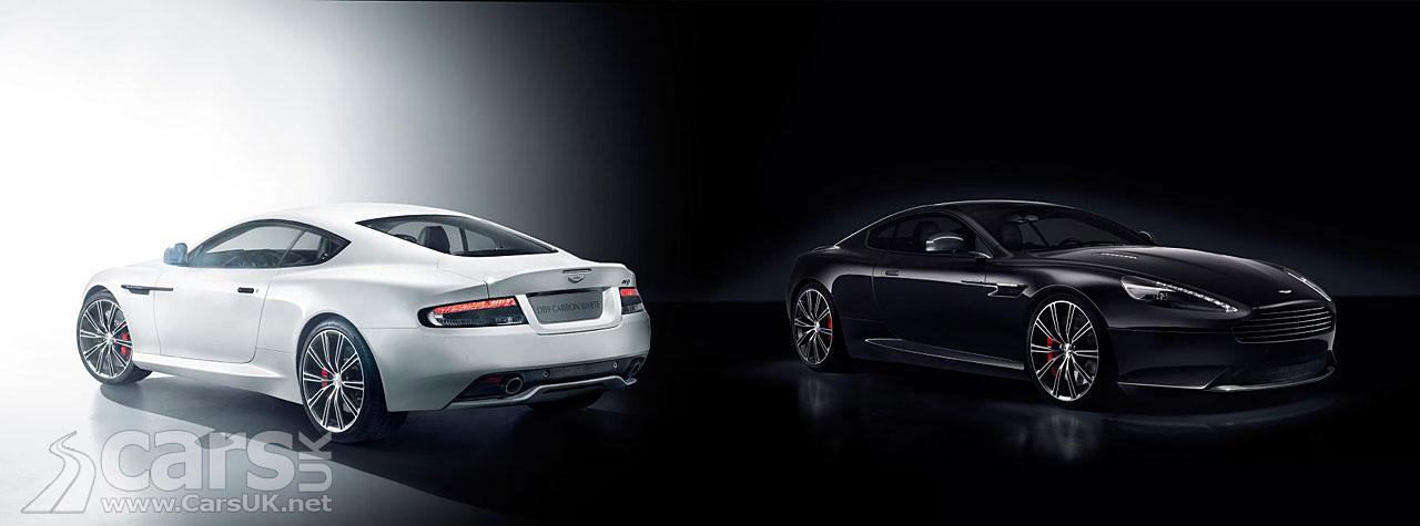 Aston Martin DB9 Carbon Black & Carbon White Edition