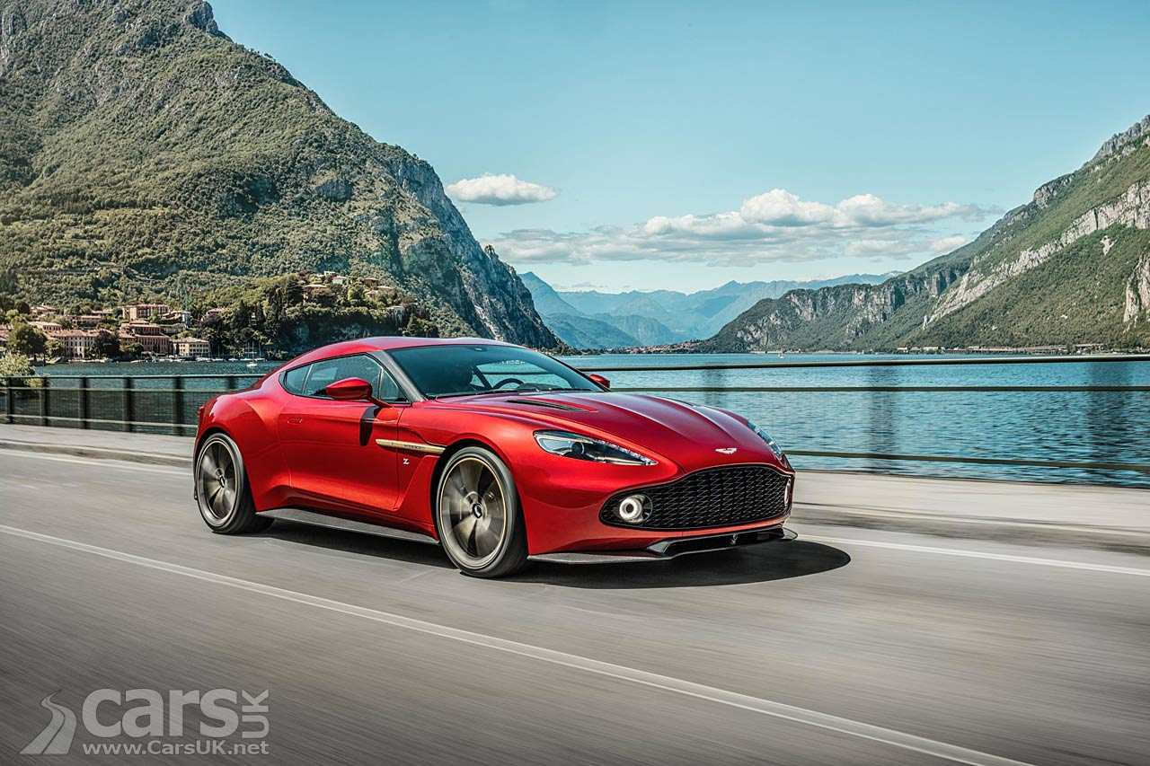 aston martin vanquish zagato photos cars uk. Black Bedroom Furniture Sets. Home Design Ideas