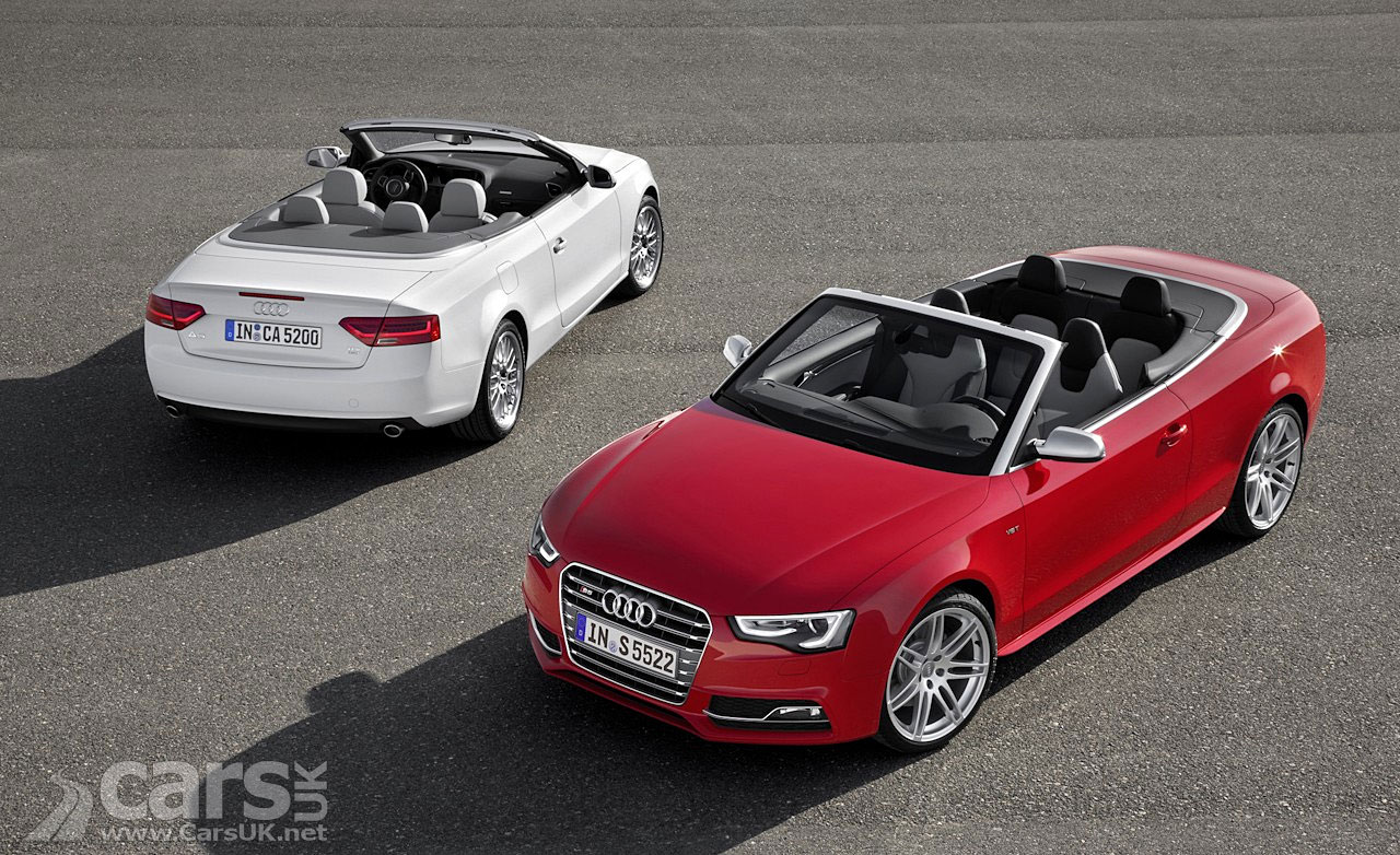 audi a5 s5 2012 facelift photo gallery. Black Bedroom Furniture Sets. Home Design Ideas