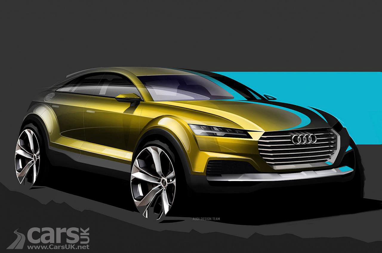 Audi Q4 Coupe Suv Design Sketch Pictures Cars Uk