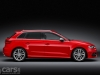 Audi S3 Sportback red side view image