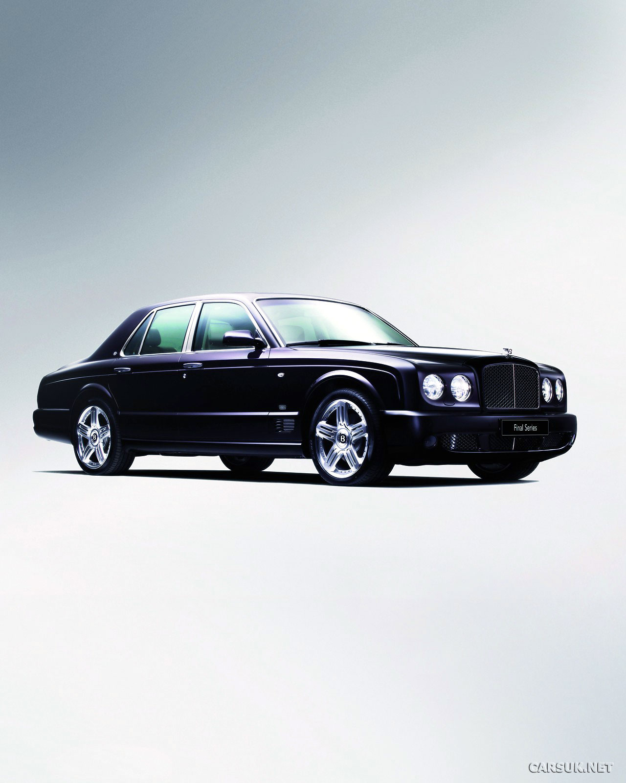 Bentley Arnage Replacement To Take On Rolls Royce