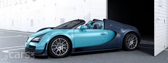 Bugatti Veyron Grand Sport Vitesse Jean-Pierre Wimille Special Edition
