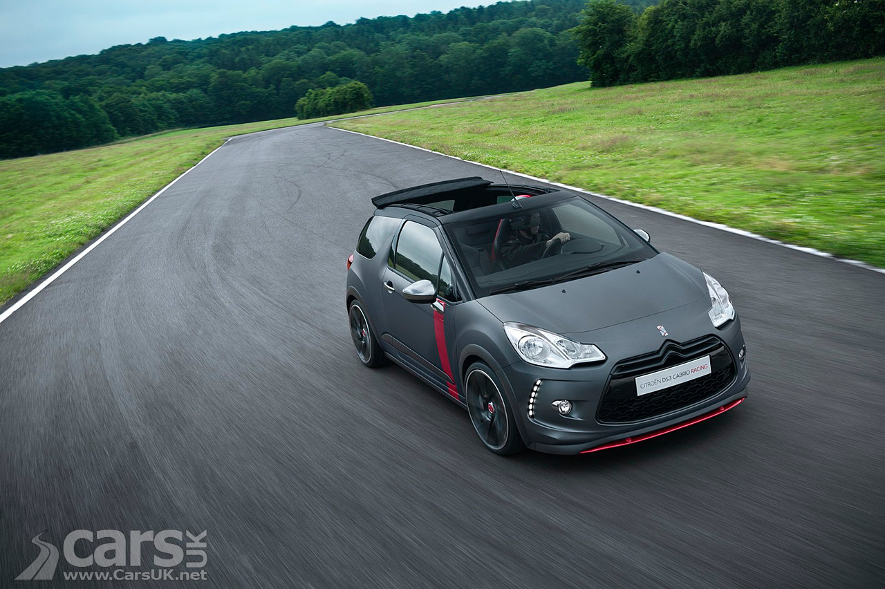 citroen ds3 cabrio racing pictures cars uk. Black Bedroom Furniture Sets. Home Design Ideas