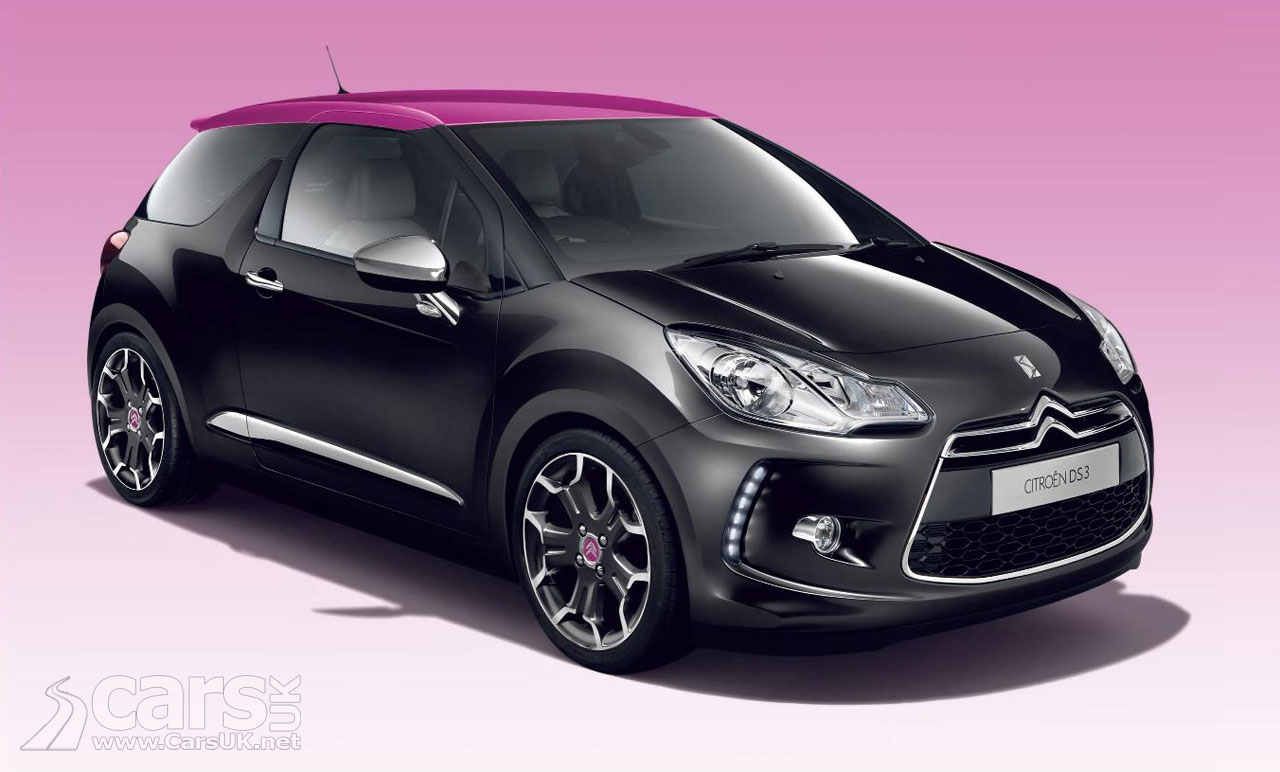 citroen ds3 uk prices revealed. Black Bedroom Furniture Sets. Home Design Ideas