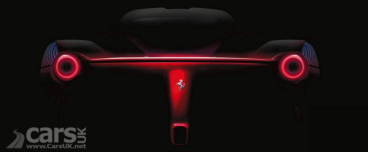 Ferrari F150 Tease back image