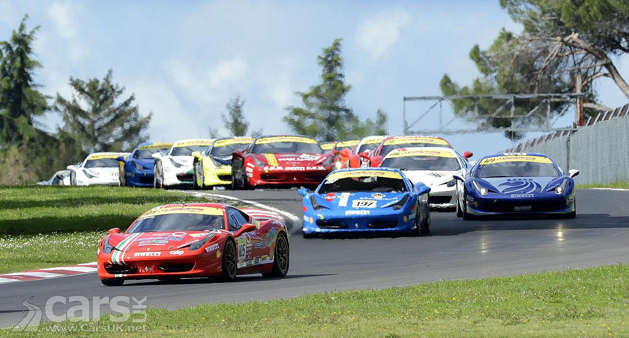 Ferrari Silverstone Race Day