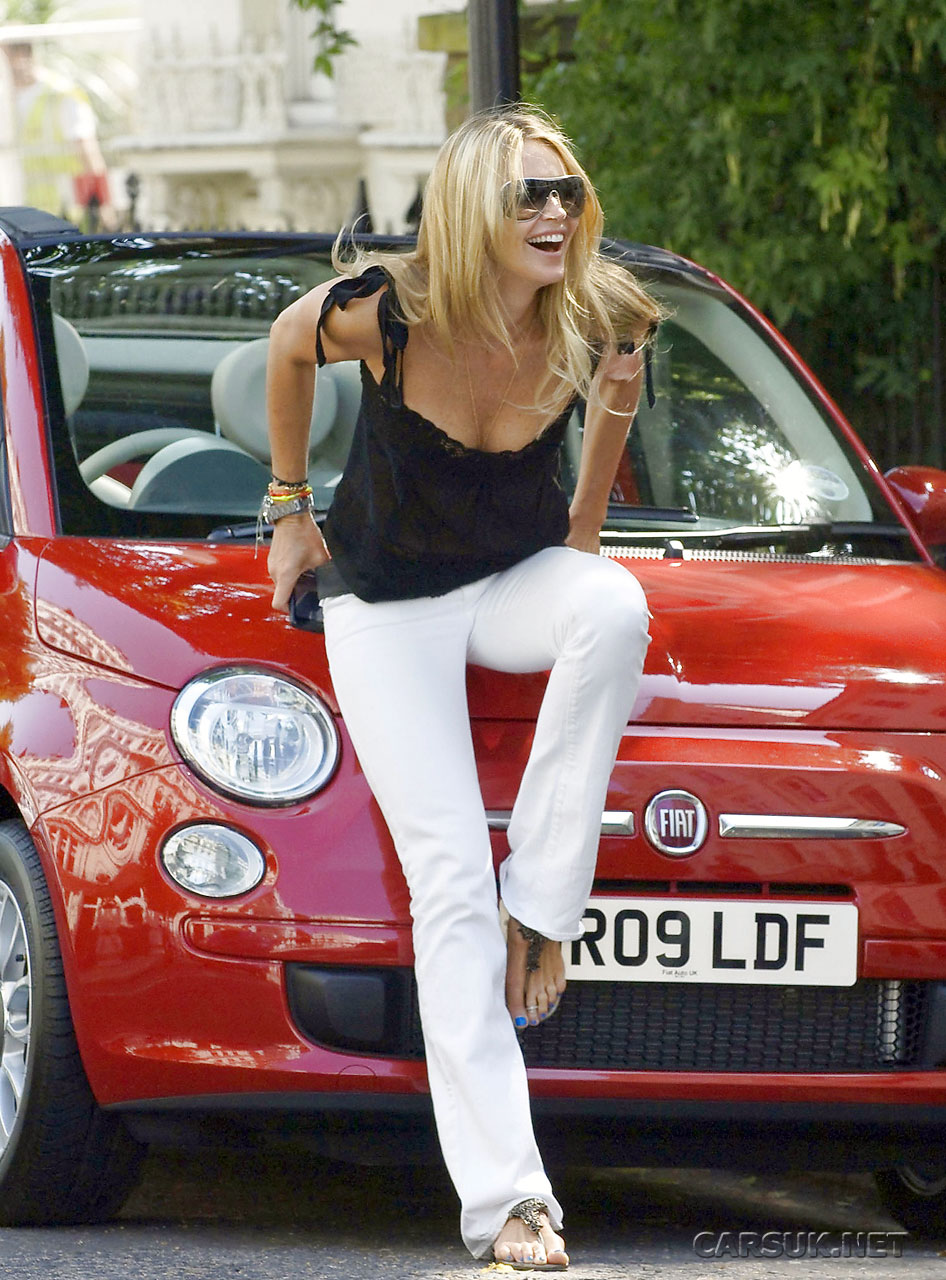 Fiat 500 Convertible,