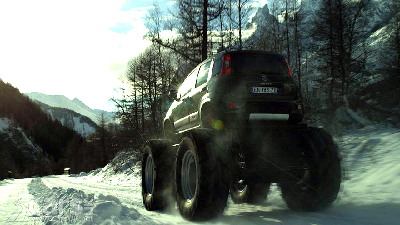 Fiat Panda 4x4 Monster Truck Bigfoot
