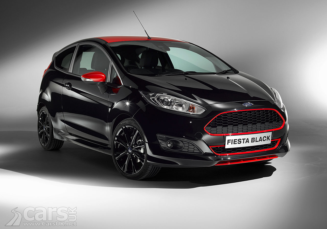 Ford Fiesta Zetec S Red And Black Edition Pictures Cars Uk
