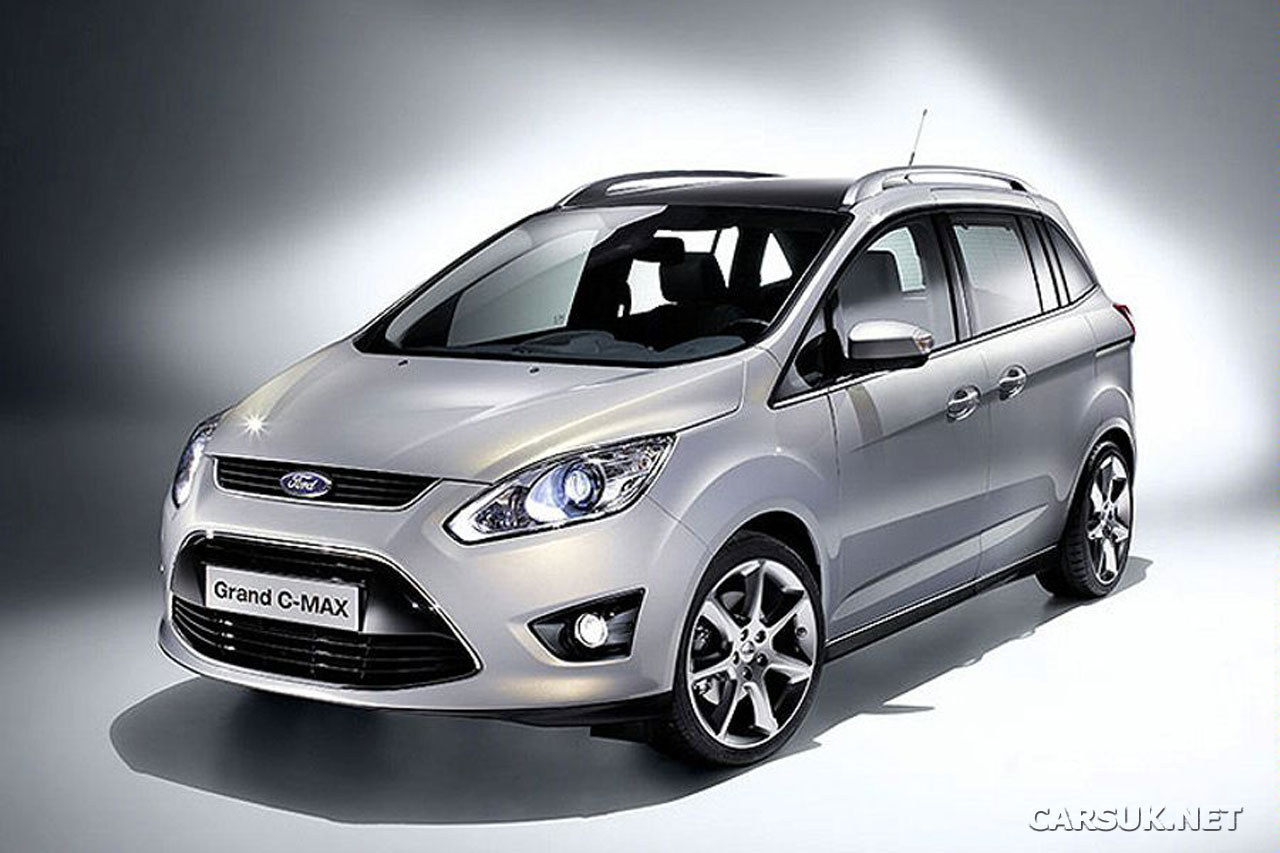 ford grand c max revealed. Black Bedroom Furniture Sets. Home Design Ideas