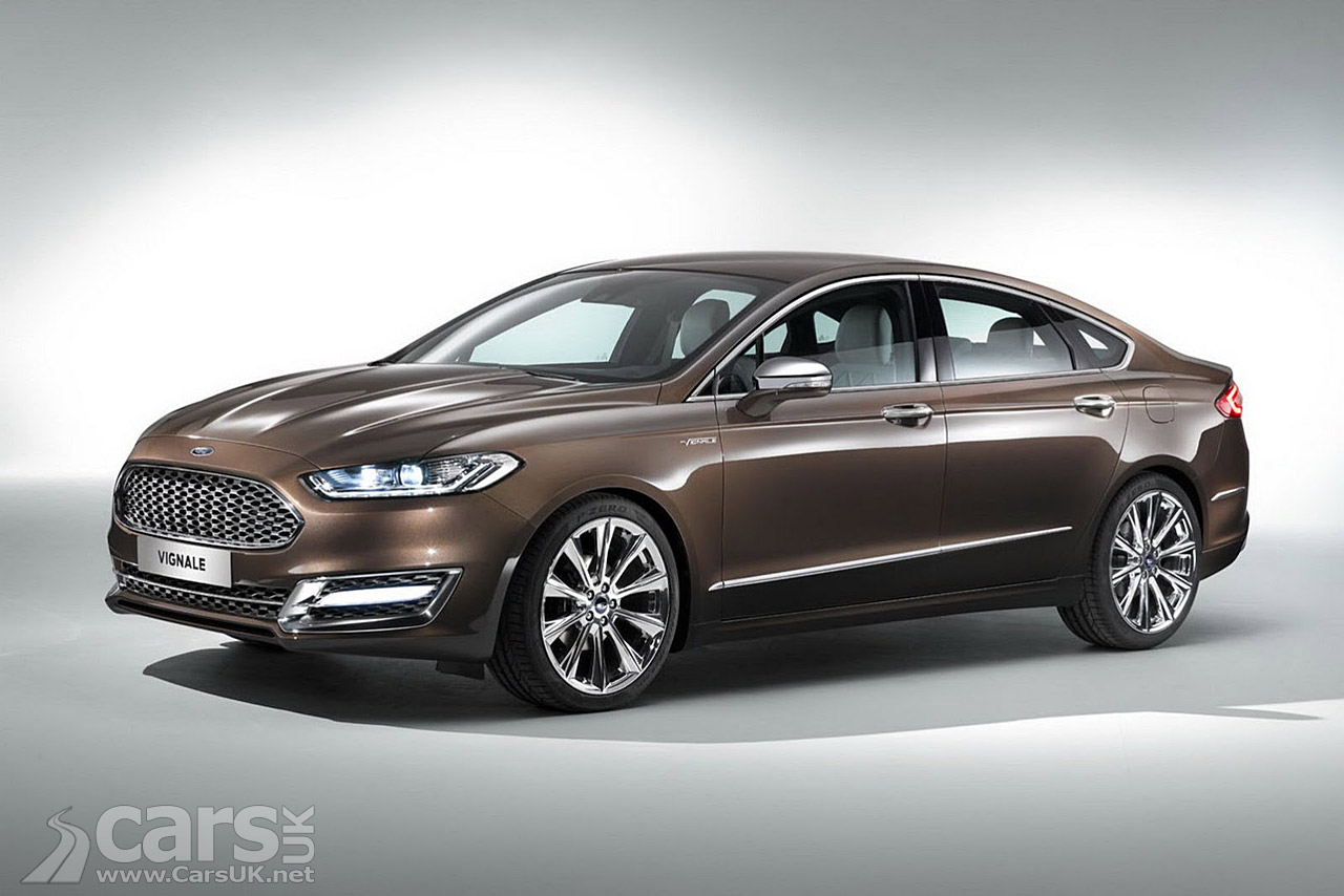 Ford Mondeo Vignale Concept Pictures Cars Uk