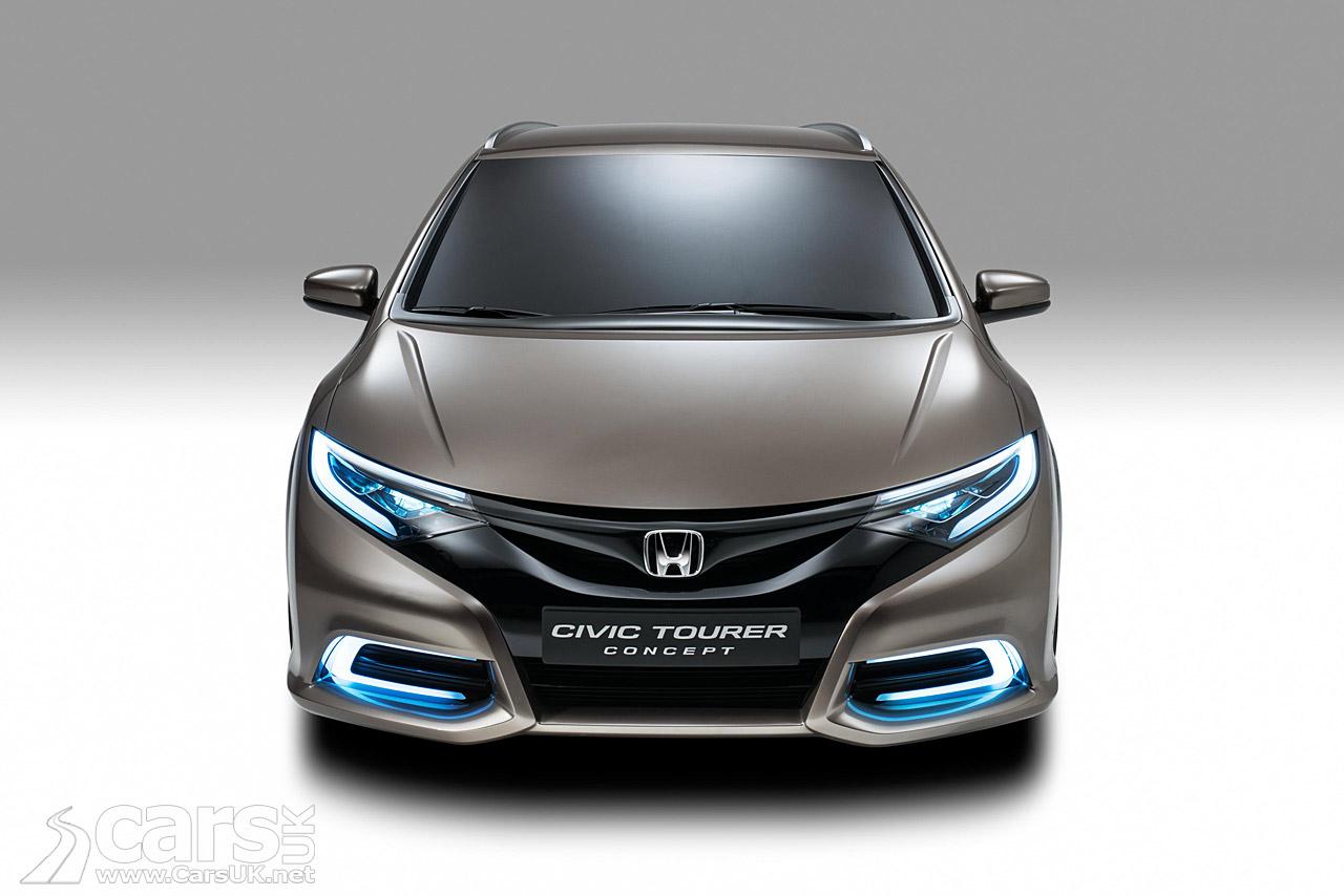 Honda Civic Tourer Concept Pictures   Cars UK