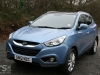 Hyundai ix35 2.0 CRDi 4WD Review front 3/4 exterior photo