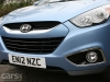 Hyundai ix35 2.0 CRDi 4WD Review nose and grill photo