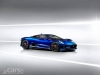 Jaguar C-X75 Hybrid Supercar (blue)