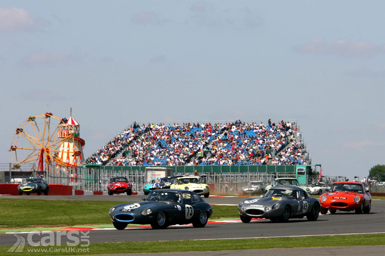 Jaguar E-Type Silverstone Race