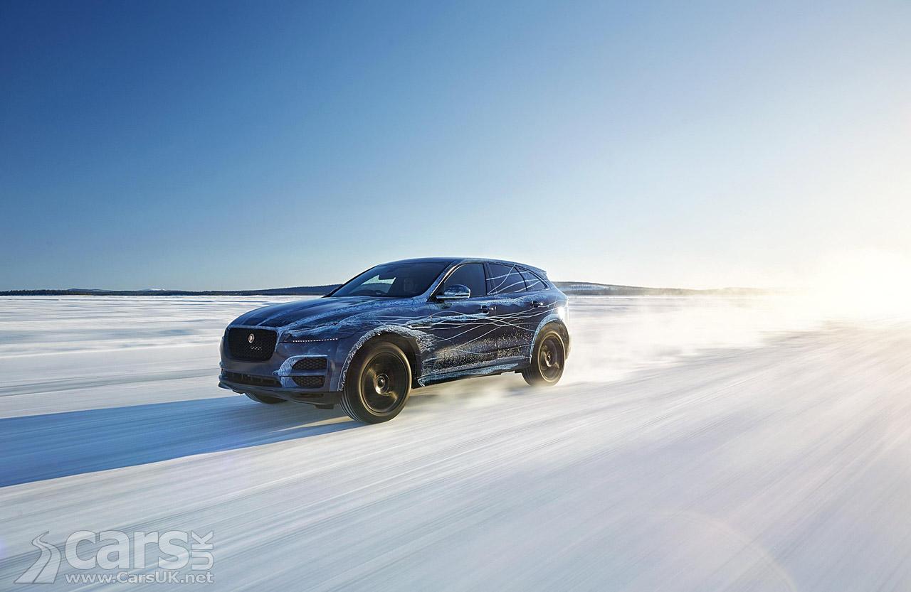 Jaguar F-Pace Extreme Testing