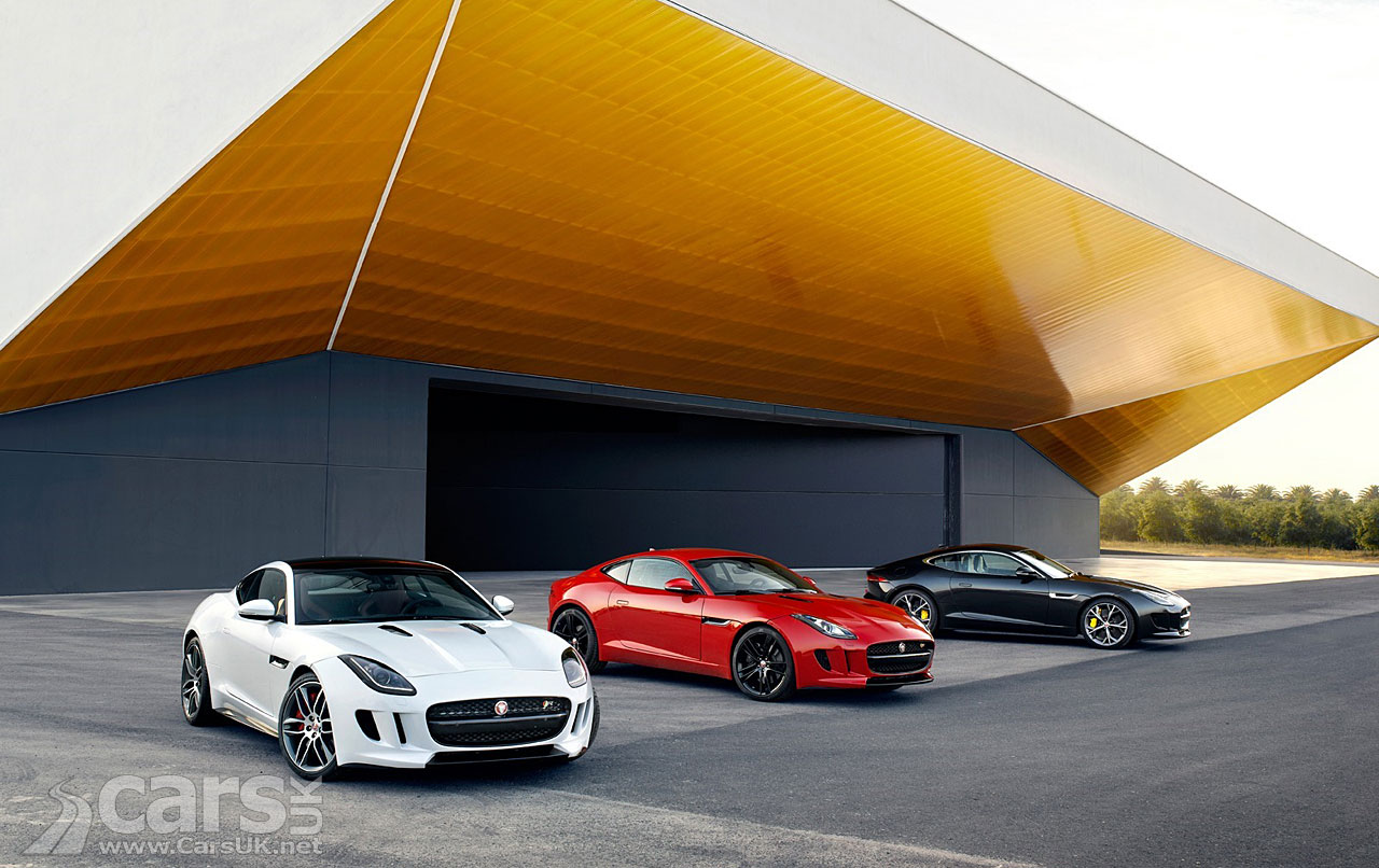 Jaguar F-Type Coupe and F-Type R Coupe