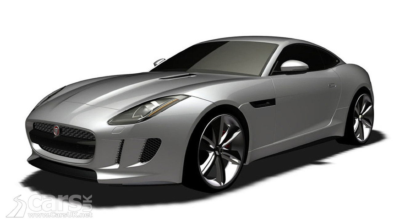 Jaguar F-Type Coupe Patent